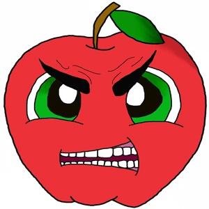 Меры предосторожности при употреблении яблок