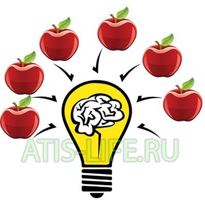 Польза яблок для памяти